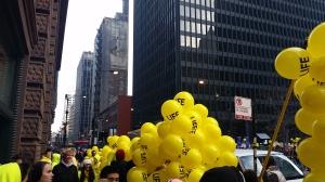 Crusaders preparing the Balloons