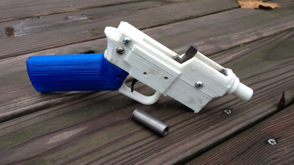 Thorner/Ingold: 3D printer firearm parts are much to do about